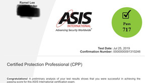 Passing the ASIS Certified Protection Professional (CPP) Morning Exam