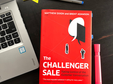 How to Take Control of the Customer Conversation (based on the Challenger Sale Book)