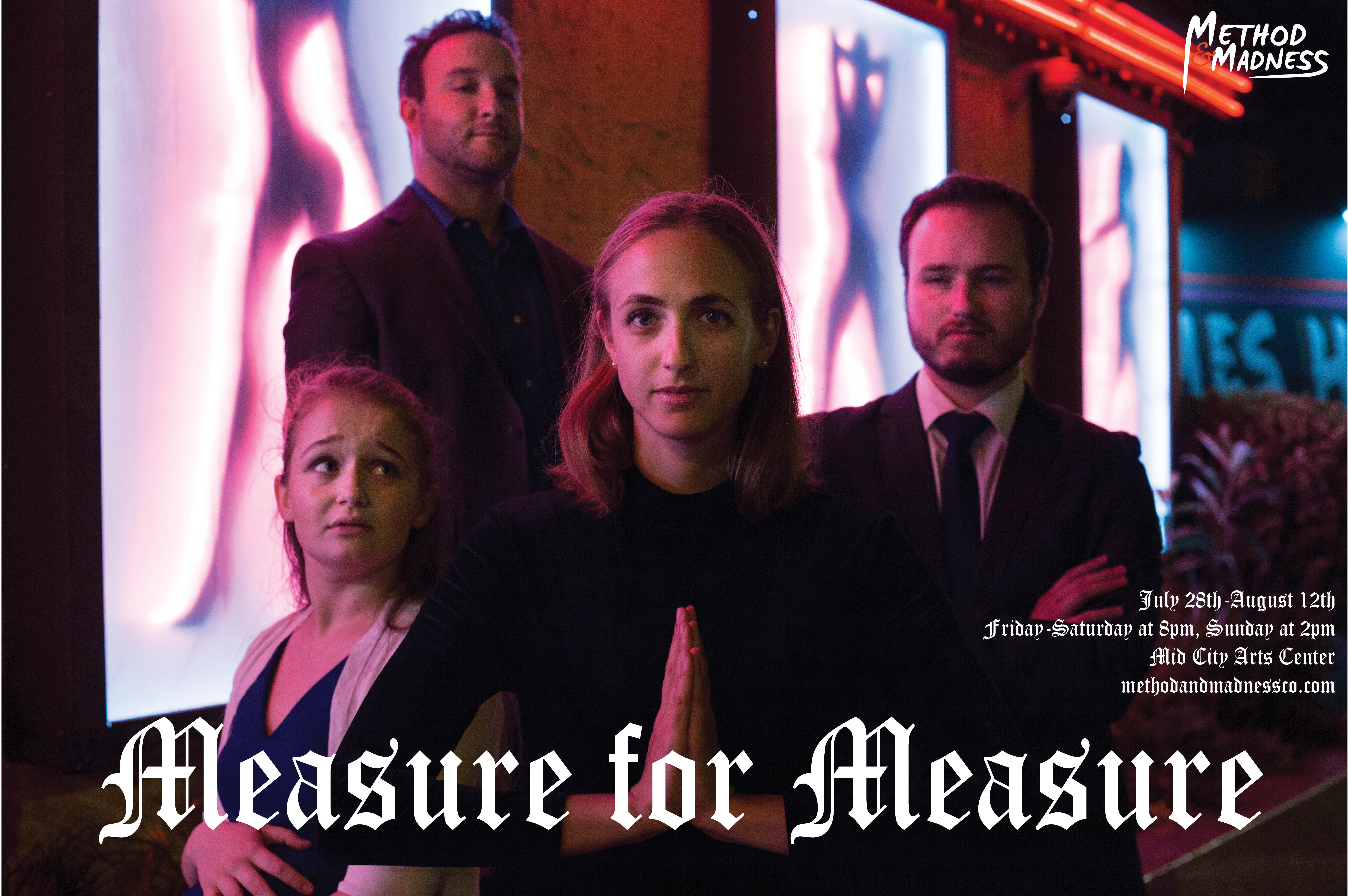 Measure for Measure group poster