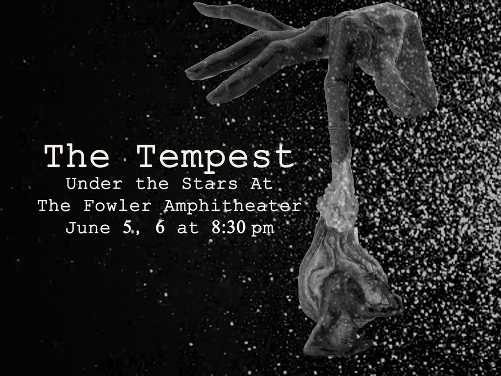 Poster Design for The Tempest