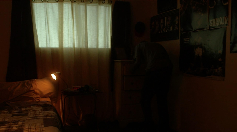 Mark's bedroom