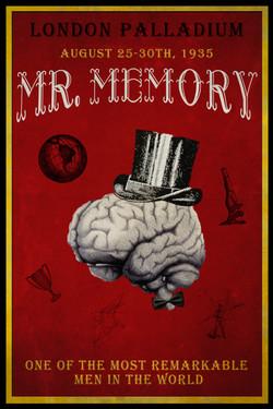 Mr Memory Poster