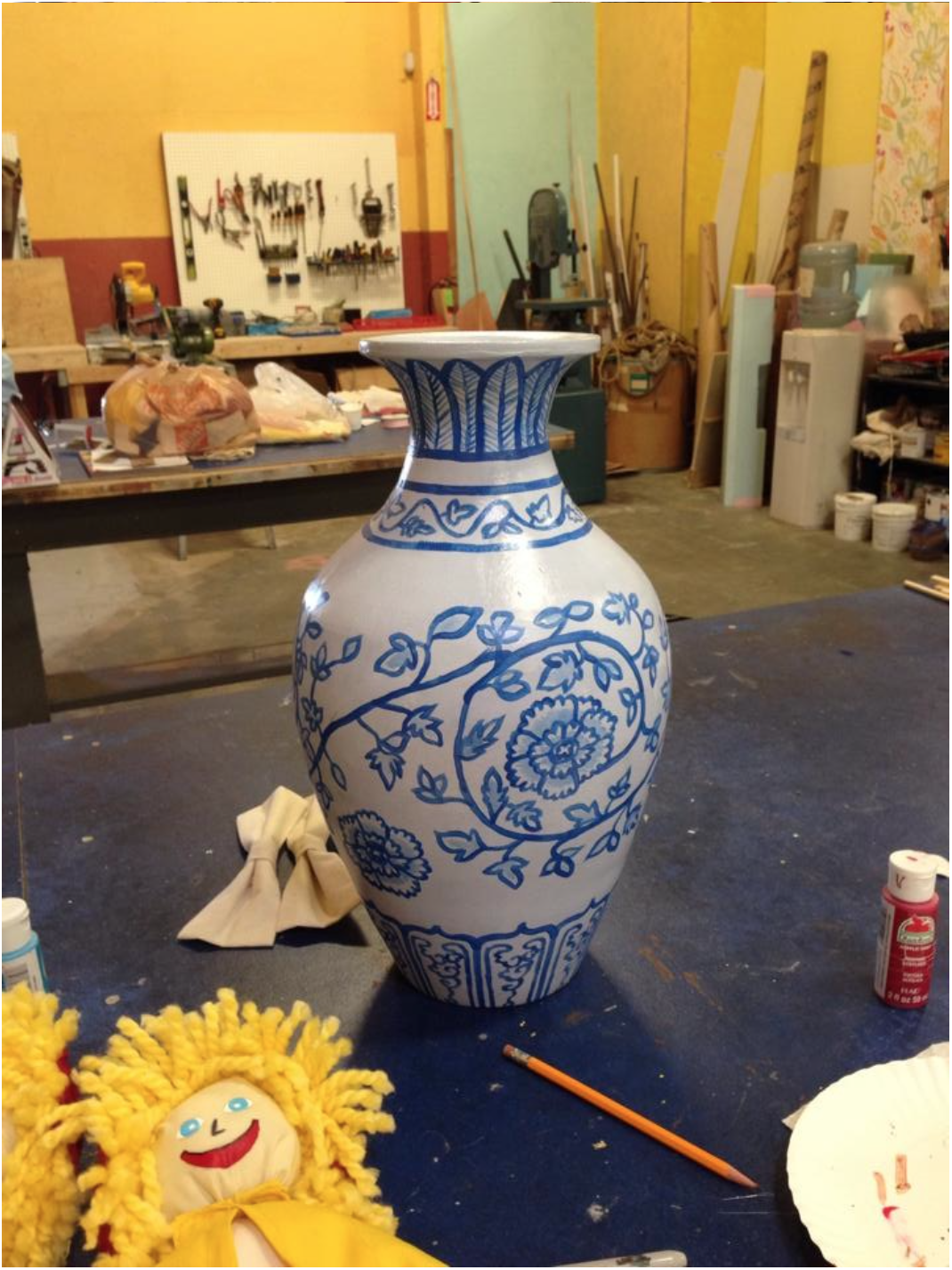 Break Away Chinese Vase