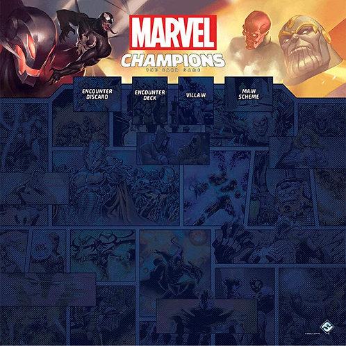 Marvel Champions LCG: Playmat 1-4 jugadores