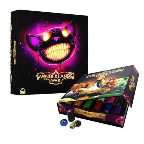 Wonderland's War Deluxe Edition + Premium Chips (Kickstarter)
