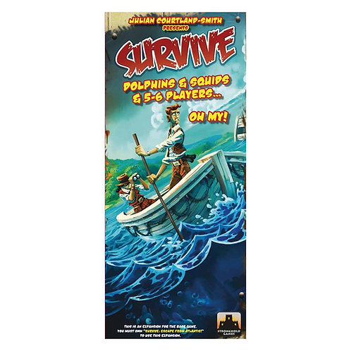 Survive: Dolphins & Squids & 5-6 Players