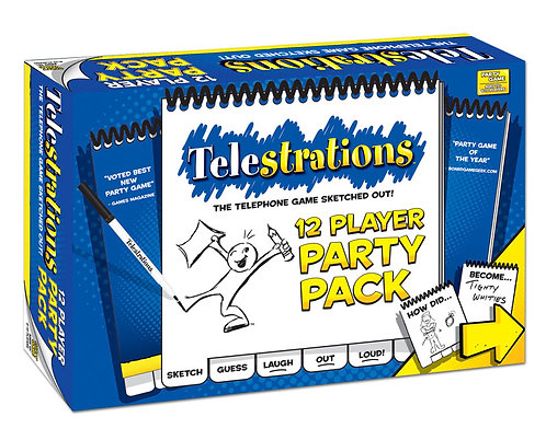 Telestrations 12 Player: The Party Pack