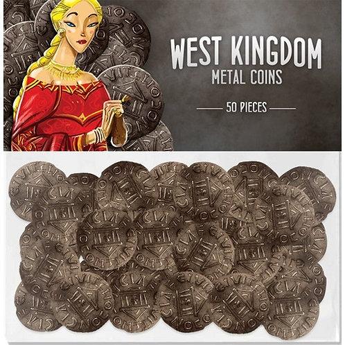 Architects of the West Kingdom: Monedas Metálicas