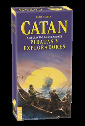Catan: Piratas y Exploradores expansión 5-6 jugadores