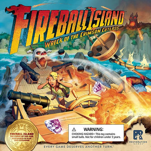 Fireball Island: Wreck of the Crimson Cutlass (Ding & Dent)