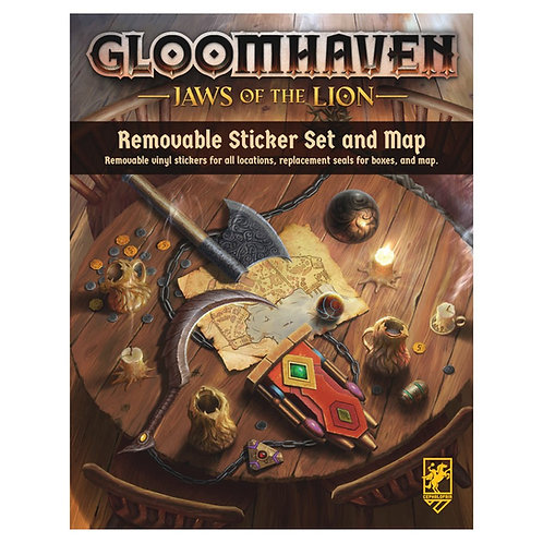 Gloomhaven: Jaws of the Lion Removable Sticker Set
