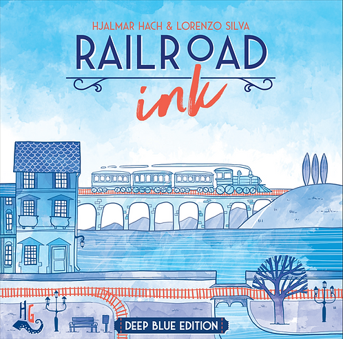 Railroad Ink Deep Blue