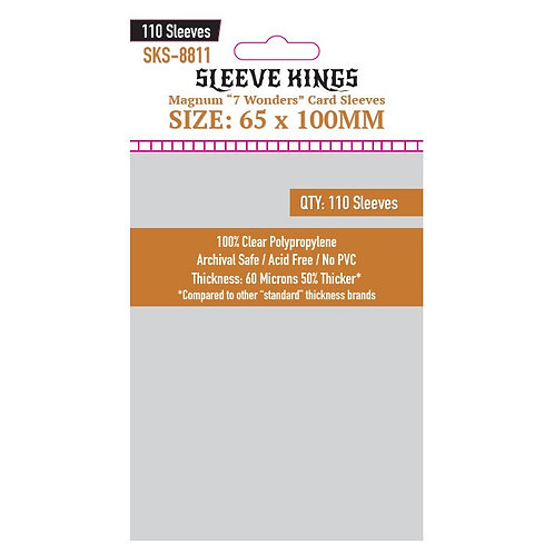 Micas Magnum 7 Wonders (65x100) - Sleeve Kings