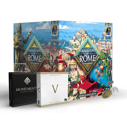 Foundations of Rome: Emperor (Kickstarter)