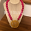 """Thumbnail: Block Monogram in Frame """"Anna""""  Necklace ©️"""