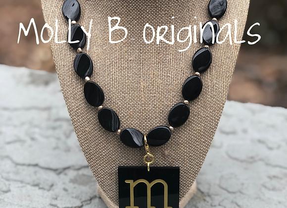 The Madeline Monogram Necklace ©️