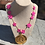 Thumbnail: Spring Flowers Monogram Necklace©️