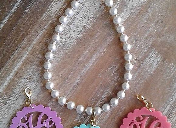Original  Monogram -Inter changeable necklace ©️