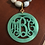 Thumbnail: Pendant ONLY Solid Monogram