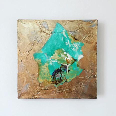Turqoise & Gold by Renata Vinciprova (ac