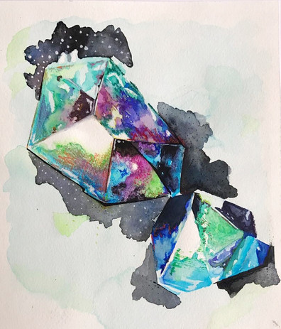Crystal Universe by Renata Vinciprova