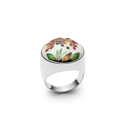 Bloom ring enamel