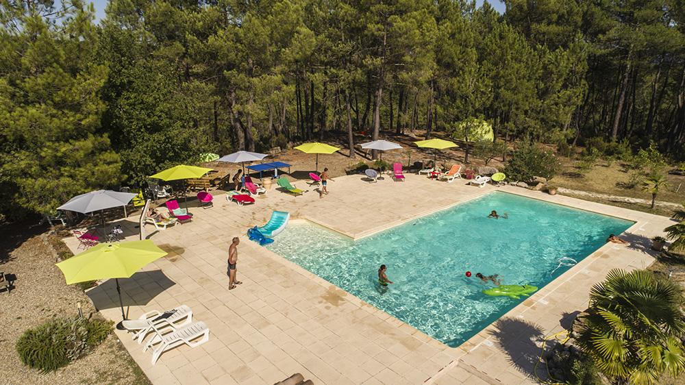 Les mas de Payzac - La piscine