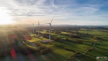 Les éoliennes de Chamole