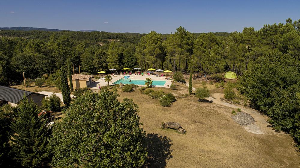 Les Mas de Payzac - Parc/piscine