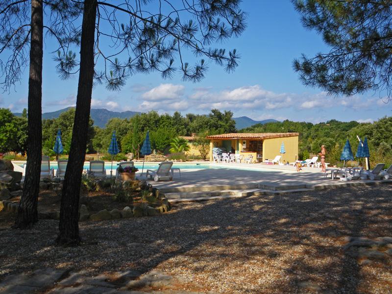Les Mas-de-Payzac-La piscine