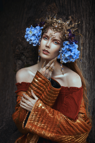 IVY-Design   IVYDesign   Kopfschmuck   Headpiece   Headdress   Crown   Krone   Kostüm   Costume    Kostümdesign   Costumedesign