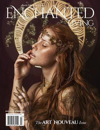 IVY-Design Headpiece Cover Enchanted Living Magazine
