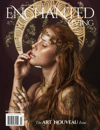 IVY-Design Headpiece Cover Enchanted Living Magazine