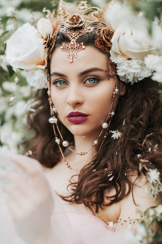 IVY-Design | IVYDesign | Kopfschmuck | Headpiece | Headdress | Crown | Krone | Kostüm | Costume |  Kostümdesign | Costumedesign