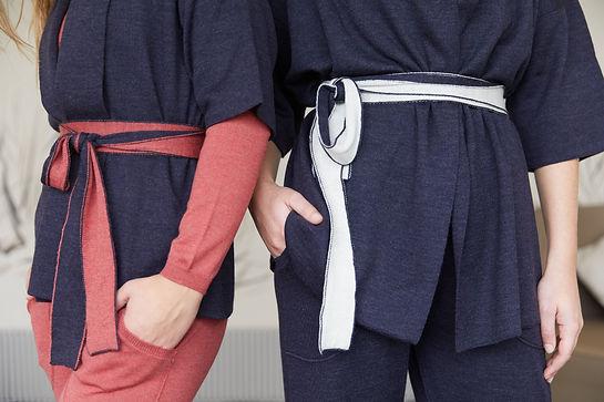 DF2822CC DanceFiber kimono jackets doubl