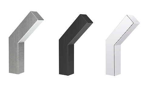 IN 14 601 - Coat Hook - 3 Finishes