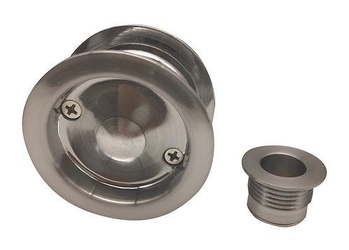 537 SN - Cavity Passage Round - Satin Nickel