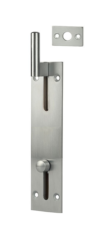 405 SC - Flush Bolt Necked (non locking) - Satin Chrome