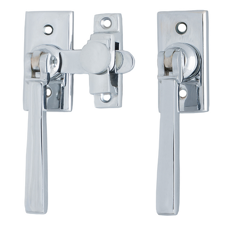 475 CP - French Door Fastener - Chrome Plate