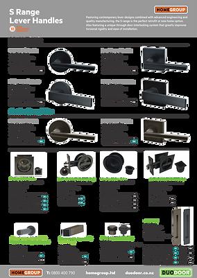 DUO DOOR Hardware Brochure S Series pg 3