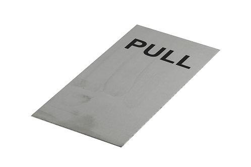 Door Sign - PULL - 200x100