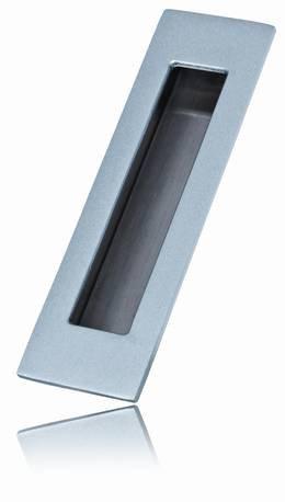 1141BSC -  Flush Pull - Brushed Satin Chrome - 3 Sizes