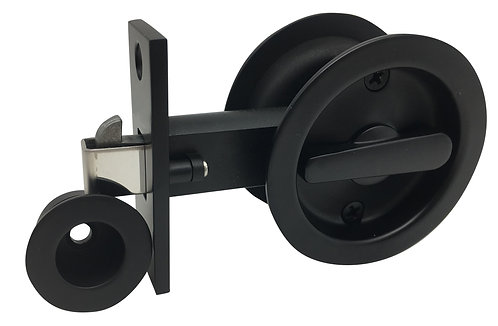 536 BL - Cavity Privacy Round - Black
