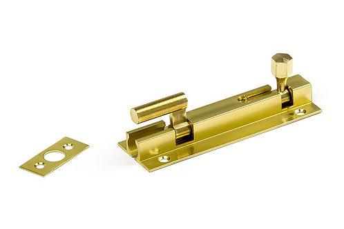 NB25 PB - Necked Socket Bolt - Polished Brass