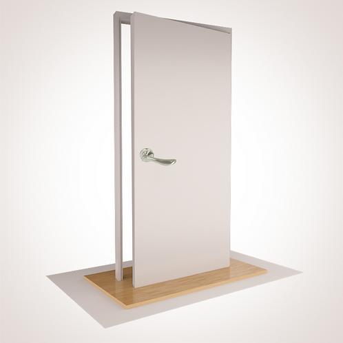 "--PLAIN-- SINGLE CUPBOARD with ""S"" Range Fixed Lever, Magnet & Doorstop"