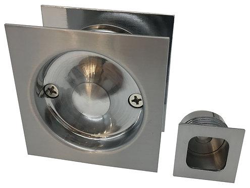 542 SC - Cavity Passage Square - Satin Chrome