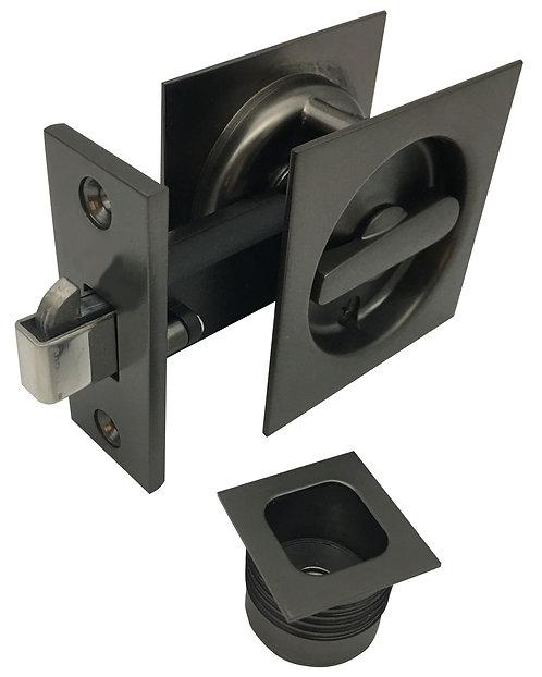 541 SG - Cavity Privacy Square - Satin Graphite