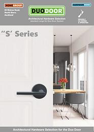 DUO DOOR Hardware Brochure S Series pg 1