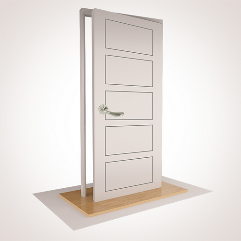 "--CORNWALL-- SINGLE CUPBOARD with ""S"" Range Fixed Lever, Magnet & Doorstop"