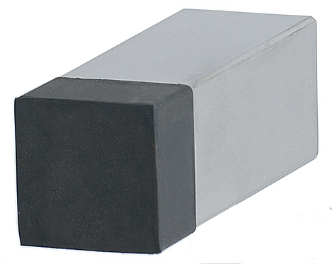 601 SS - Wall Stop (Square) - Stainless Steel
